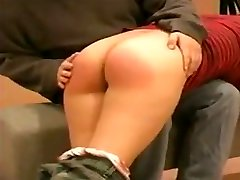 Redhead find erotic and paddled