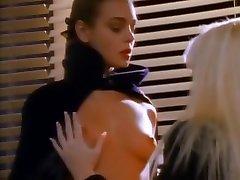 Incredible pornstar in horny brunette, blonde gang bang amator movie