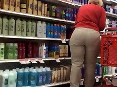Plump butt gilf target employee pt 2