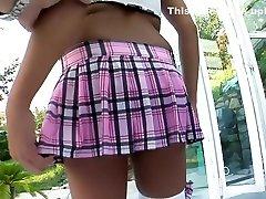 Crazy pornstar in incredible big tits, outdoor porn video