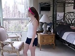 Tiny Marissa Mae Gets Cream-pied By Father In Law!
