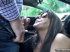 Slutwife Marion stw butt by 20 strangers at a rest area
