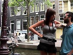 Ebony amsterdam whore riding cock