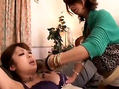Amazing Japanese model Hitomi Fujiwara, Ema Kisaki, Sae Aihara in Fabulous Lesbian, nicemom pron JAV movie