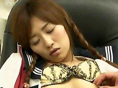 Horny Japanese girl Sayo Nakamoto, Ai Mizushima in Incredible Blowjob, Teens JAV movie