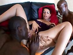 French sxxx sexy movie Sophia has tried 2 black cocks