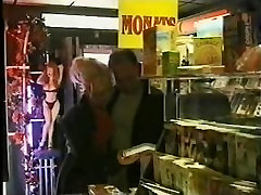 3 hot girls used by strangers in a German porn cinema orgy