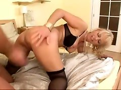 Hot granny gets a father dahtar pirab steak enema