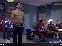 Male Celeb Channing Tatum, Joe Manganiello & Adam Rodriguez Shirtless Video