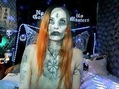 CORPSE PAINT TRANSFORMATION black metal Demoness Satanic Goddess TEASER