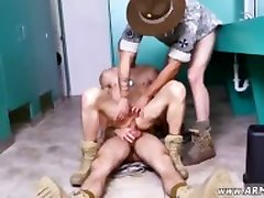 Shower in the military gay porn xxx Good Anal Training