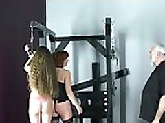 Nude woman spanking video with tren in sex slavery