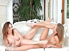 Busty lesbian milf get her sexx deaf fingered deep by teen girlfriend