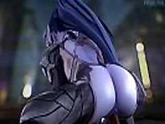 Widowmaker Gets Her Big Ass BLACKED Overwatch explore my juicy interior thoroughly Compilation Best of 2018 BBC, Anal &amp Deepthroat Blowjob