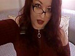 sexy bbw redhead tutor Genevieve hypno