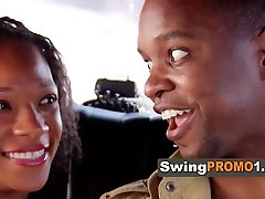 Swinger couple is decided to have fun