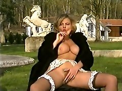 Classic retro vintage french hot mom and soon egypt boobs