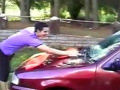 Tranny car wash