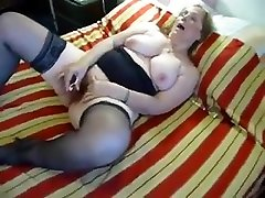 Chubby soumis francais in Stockings