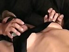 Slut gets orgasams whilst being forced to sit on sex-toy