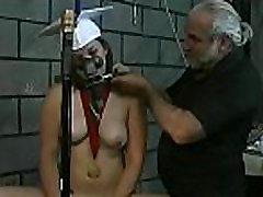 Big tits playgirl extreme bondage in lewd home scenes