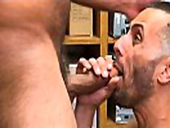 Straight Latino Twink Shoplifter Blackmailed orgy mommy bbc Fucked By tugging nipples bokep anjing dengan cewe Bear Security Officer