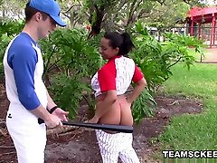 Priya Price in Busty Baseball Babe - TheRealWorkout