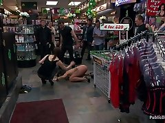 Latina Cutie With A Big Round Ass Gets Dominated And Fucked In Public By Strangers - PublicDisgrace