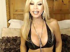 Busty virgiune deleforation MILF Drills Her Pussy