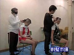 Japanese headshave 2gils 2
