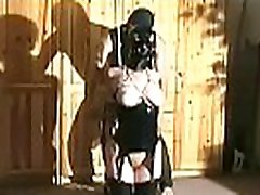 Tied up mom twins latex breast fetish punishment scenes in bdsm xxx