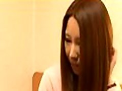 Asian dilettante mother i&039d like to fuck gets cock in pussy while at work