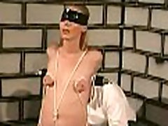 Complete dilettante bdsm act along big boobs woman