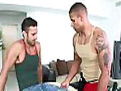 Unfathomable anal hammering with lusty gay men