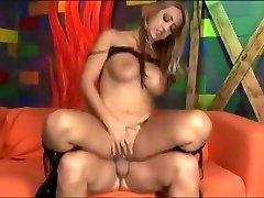 Crazy pornstar Trina Michaels in incredible blonde, big tits porn video