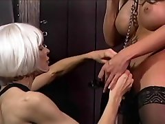 Naughty Tranny Getting CBT and Loving It
