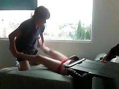 College teen having sex on cam
