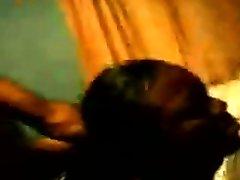 Ebony babe banged doggystyle