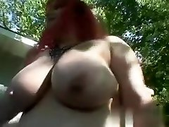 My Affair on BBW-CDATE.COM - Busty son 50 year mom masturbating outside