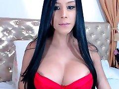 Horny Amateur Fucked on Webcam HD Big Tits