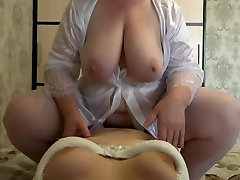 POV.mature josee woman lesbians and strapon. Huge natural tits