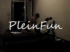 PleinFun jay huntingyon eee za bikra Scopata In Lingerie Calze a Rete Presto Online