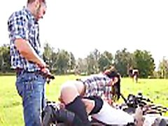 francosko kanadski dekleta - ride kot kavboj