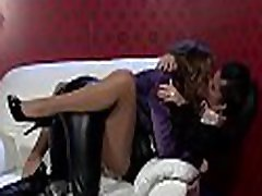Stunning lesbian playgirl gets her big pussy licked passionately