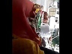 Big haley grace hess indian in yellow Saree
