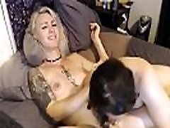 Blonde Trap Deepthroated By Horny Dude