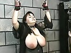 Naughty amateur video with beauty enduring vagina stimulation