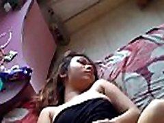 Hot korean heeljob girl sleeping
