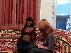 Blackette découvre les joies de l'anal