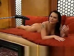 Big chopsticks in girl Fucked by Machine